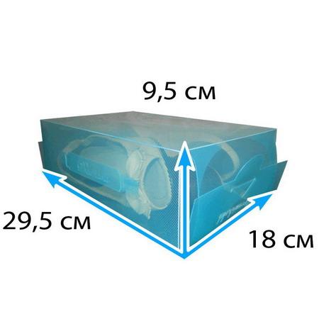 Пластиковая коробка бирюза 5 литров