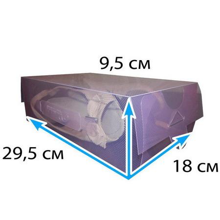 Пластиковая коробка лиловая 5 литров