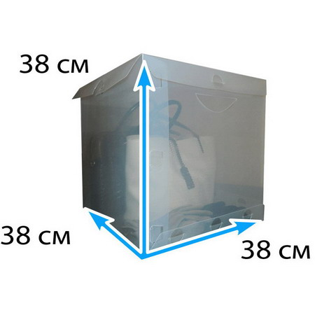 Пластиковая коробка 55 литров