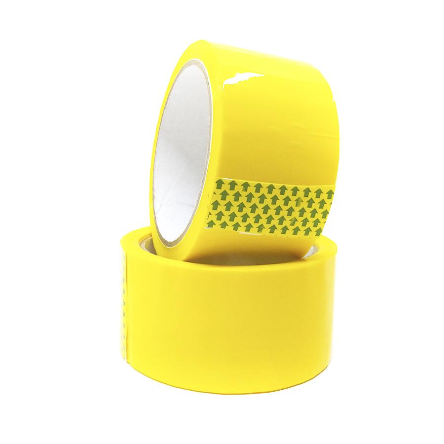 Скотч лента желтая