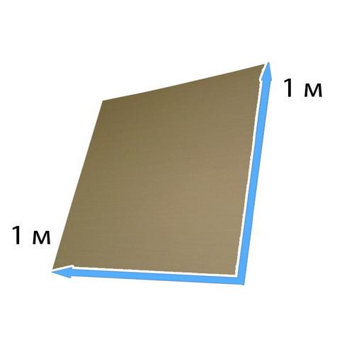 Гофрокартонный лист 1*1 м
