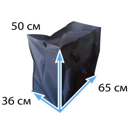 Сумка черная тканевая №Ч3 XL