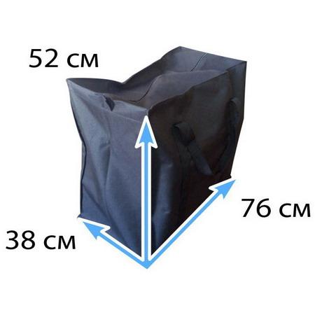 Сумка черная тканевая №Ч4 XXL