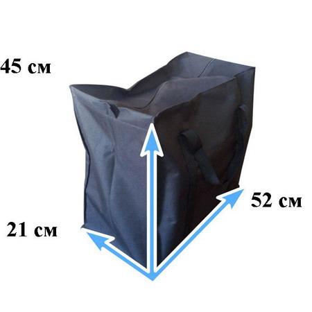 Сумка черная тканевая №Ч1 S