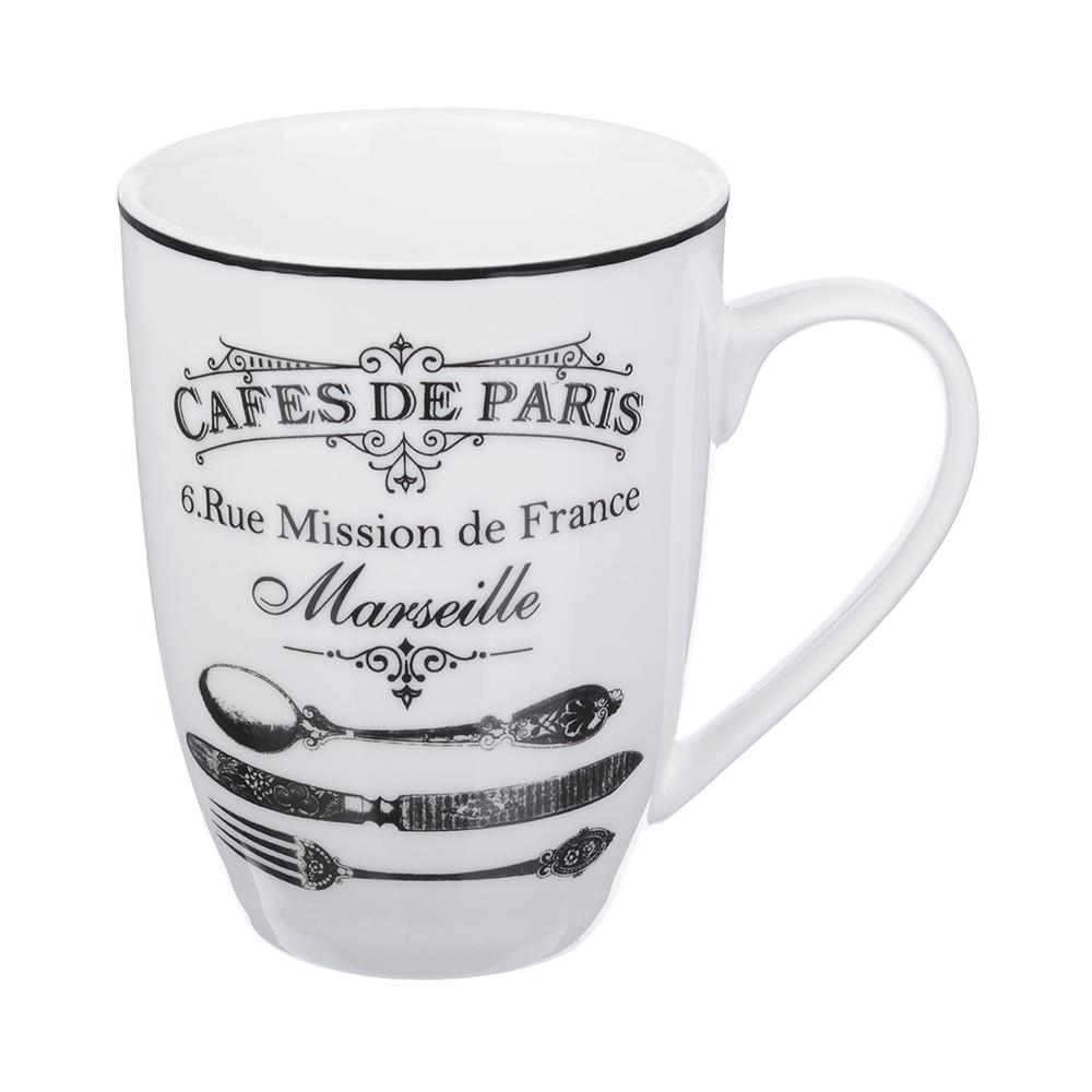 MILLIMI Кафе де Пари Кружка, 350мл, 12х8,5х11см, керамика
