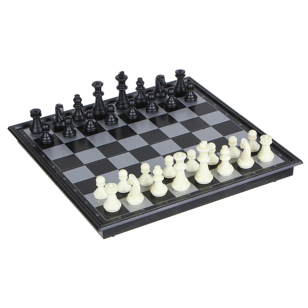 Набор игр 3 в 1 (магнитные шашки, шахматы и нарды) 32х32см, пластик, металл, SC58810