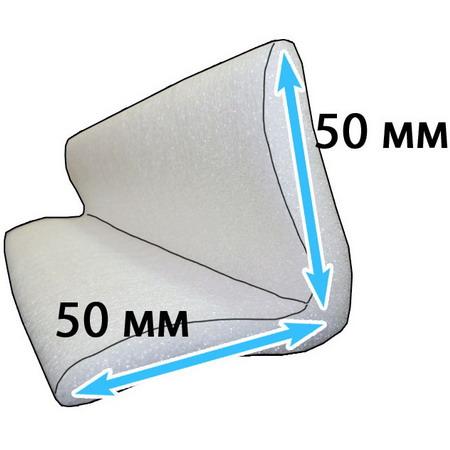 Защитный профиль для перевозки мебели уголок 50*50