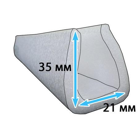 Защитный профиль для перевозки мебели 21*35