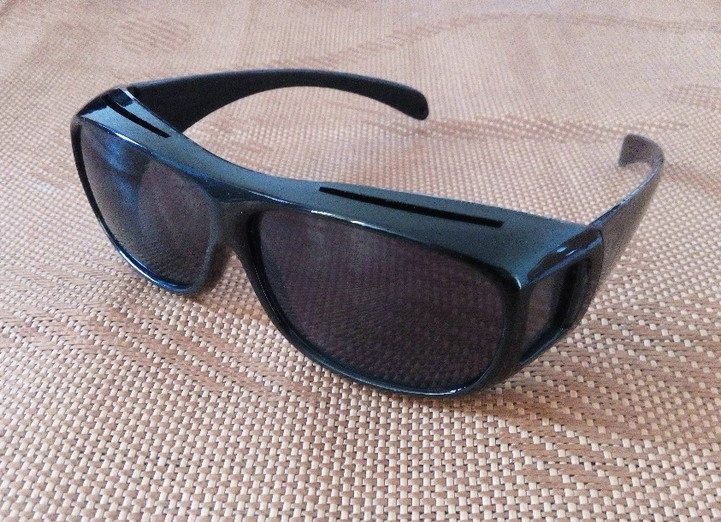 Очки для водителя HD Vision черные