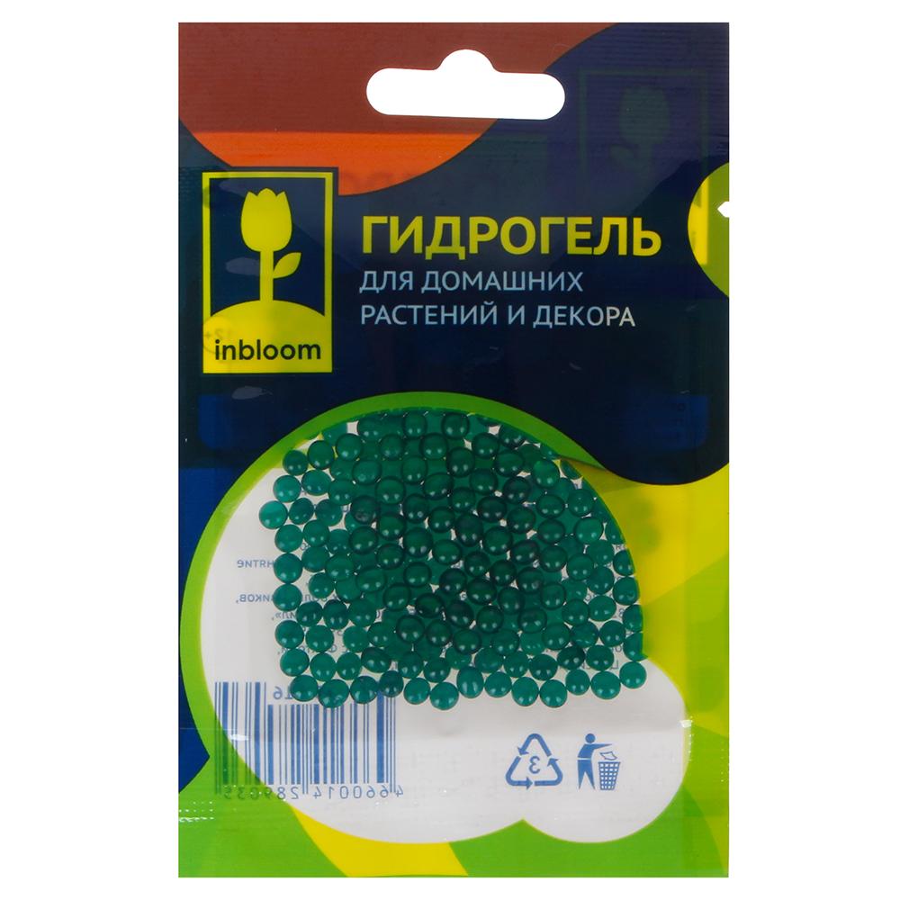 INBLOOM Гидрогель для домашних растений и декора Шарики, полимерный материал, 6 цветов