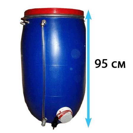 Бочка с электроподогревом на 120 литров