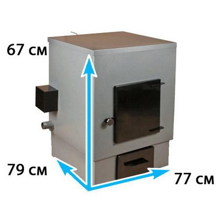 Отопительный котел с конфоркой на площадь до 240 м*2 АОТВК -31,5-6