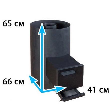 Каменка для бани овальная на помещение 12-18 м*3