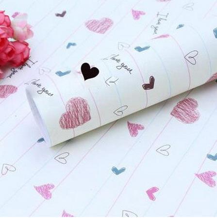 Бумага для оформления подарков 52*75 см №1