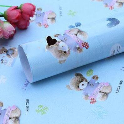 Бумага для оформления подарков 52*75 см №5