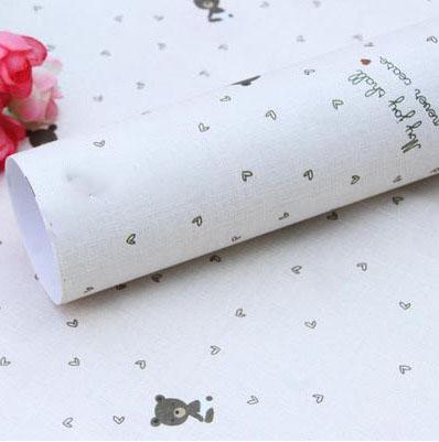 Бумага для оформления подарков 52*75 см №9