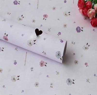 Бумага для оформления подарков 52*75 см №11