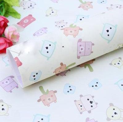 Бумага для оформления подарков 52*75 см №13