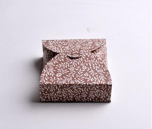 Коробки для подарков 12*12*4 см №4