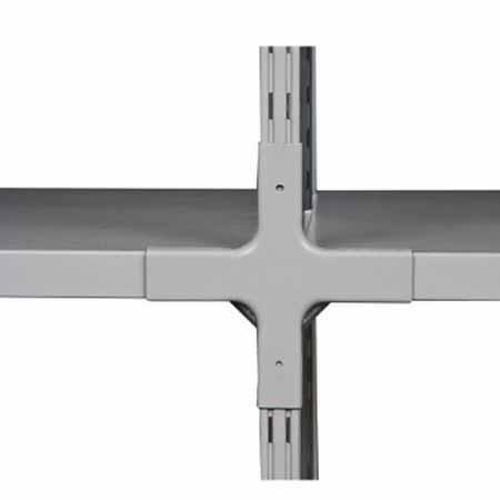 Стеллаж (2000x760x300) 150 кг 4 полки металл ТСУ 1.7