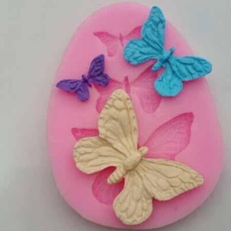 Силиконовая форма Бабочки