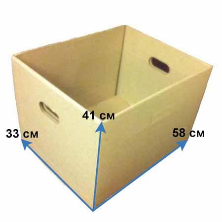 Архивный короб без крышки большой
