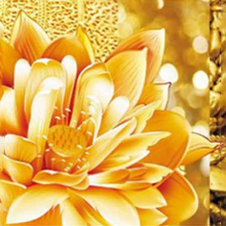 Набор алмазной живописи из 3-х картин Лотосы
