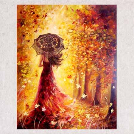 Алмазная вышивка Осень