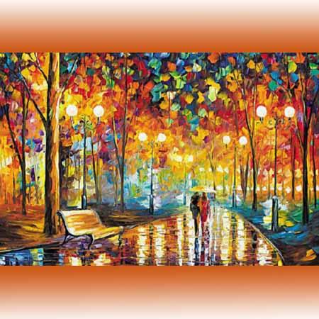 Алмазная вышивка (живопись) Осенний вечер
