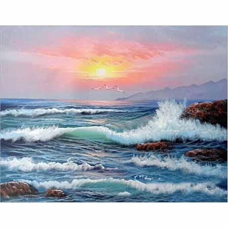 Алмазная вышивка (мозаика) Море