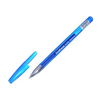 Erich Krause Ручка гелевая синяя R-301 Ориджинал Джел, 0,5мм, синий корпус, пластик, 40318