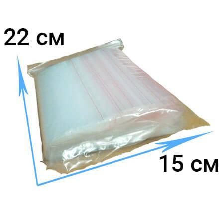 Пакеты ZIP-LOCK- 15*22