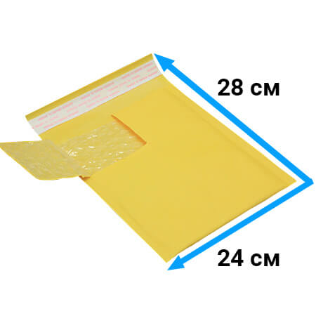Пакет с воздушной подушкой 24 * 28