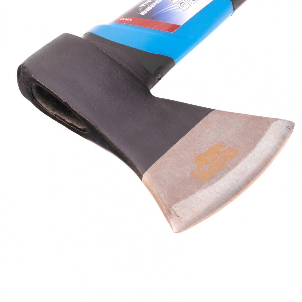 Топор плотницкий, 450 гр, двухкомпонентная обрезиненная рукоятка Барс
