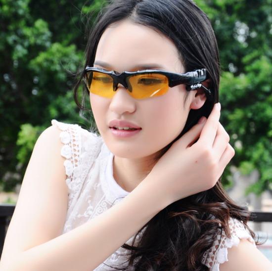 Гарнитура с Bluetooth  солнцезащитные очки