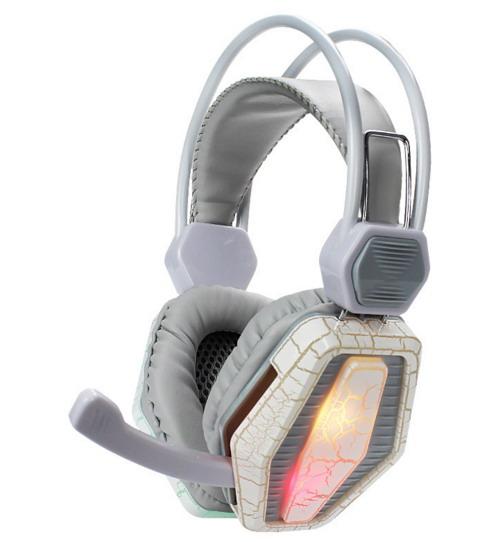Наушники с микрофоном с подсветкой