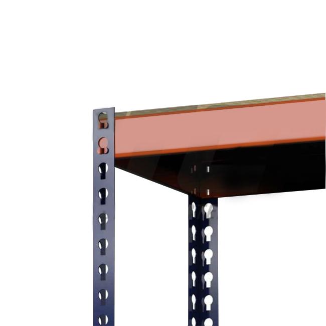 Стеллаж (2500х1240х455) 350 кг 5 полок Профи-Т фанера