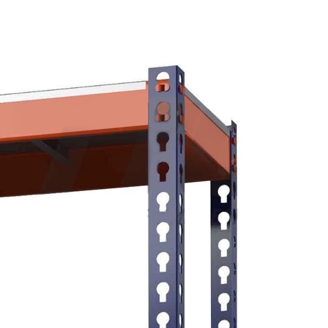 Стеллаж (2500х1240х770) 450 кг 5 полок Профи-Т оцинк. мет.