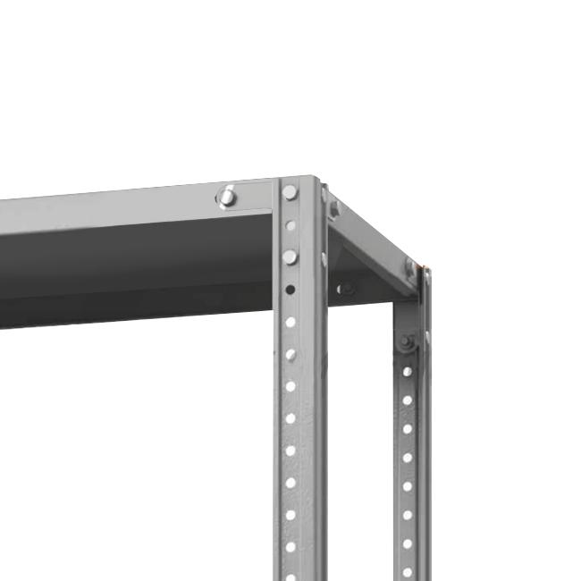 Стеллаж (2200х1200х400) 120 кг 4 полки металл ТС Лайт
