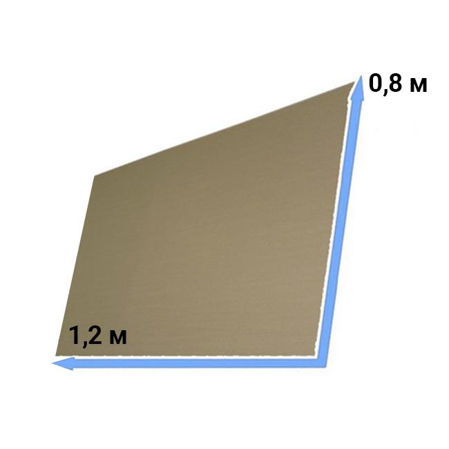 Прокладка на паллет из картона 0,8*1,2 м