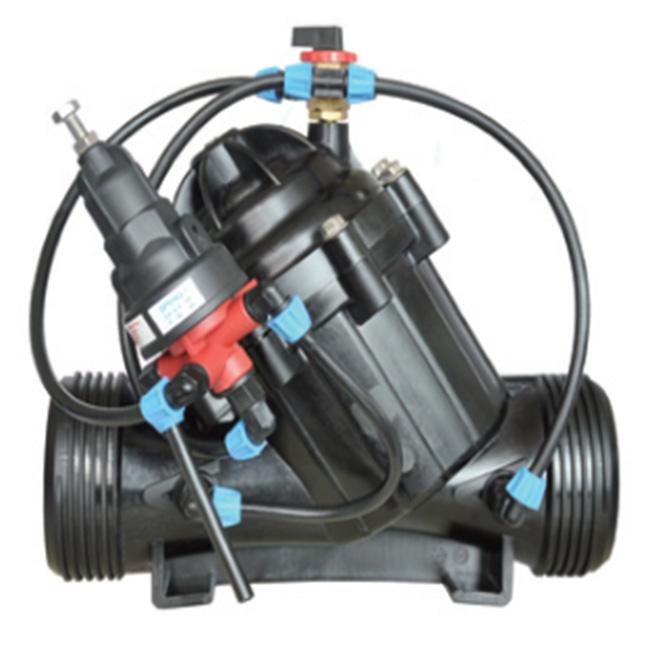 Редукционный клапан 4 Фланец (Dn100) с ручным трехходовым клапаном
