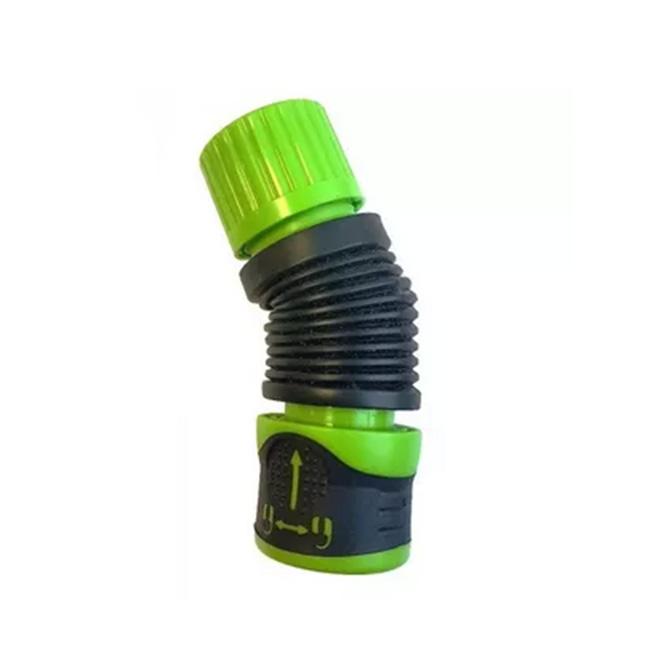 Гибкий коннектор для шланга 1/2 - 5/8  аквастоп с замком