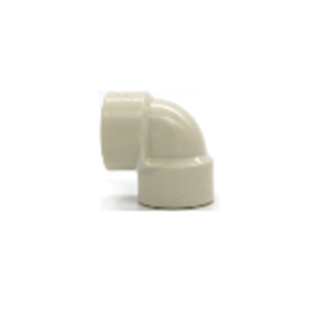 Коннектор угловой PVC с двусторонней внутренней резьбой 1/2