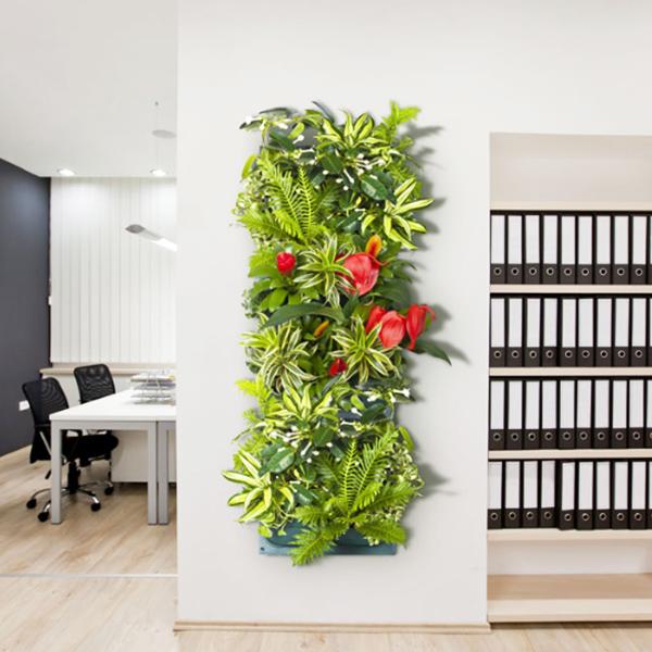 Фитомодуль- вертикальное озеленение из цветов