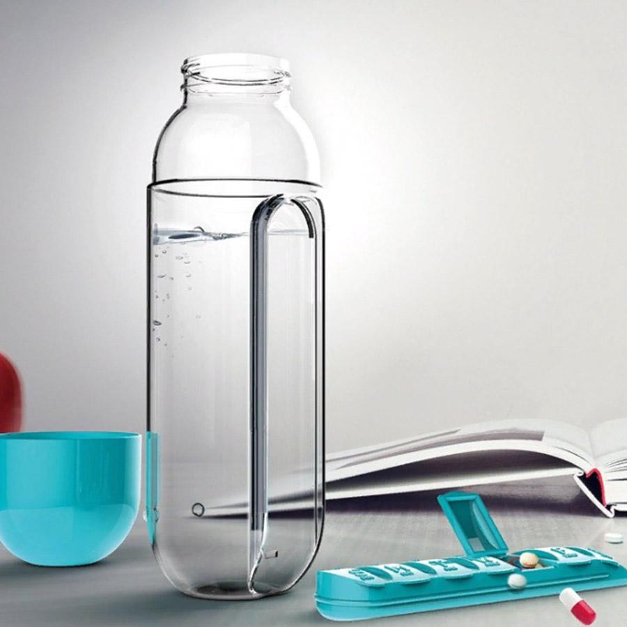 Бутылка органайзер таблетница на 7 дней