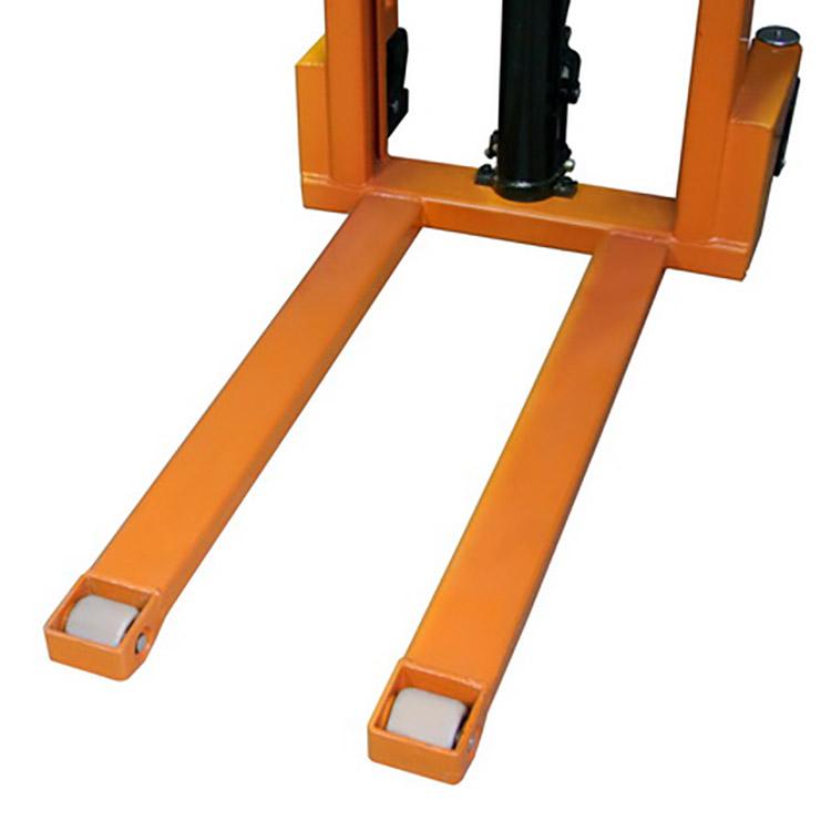 Штабелер гидравлический ручной SDA 1516 (1,5 т, высота подъема 1600 мм, 1150х550 мм)