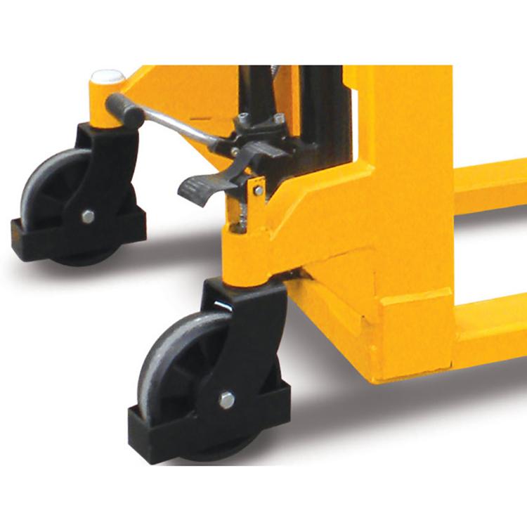 Штабелер гидравлический ручной SDA 1525 (1,5 т, высота подъема 2500 мм, 1150х550 мм)