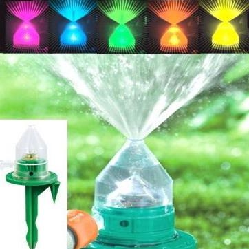 Спринклеры для полива с подсветкой