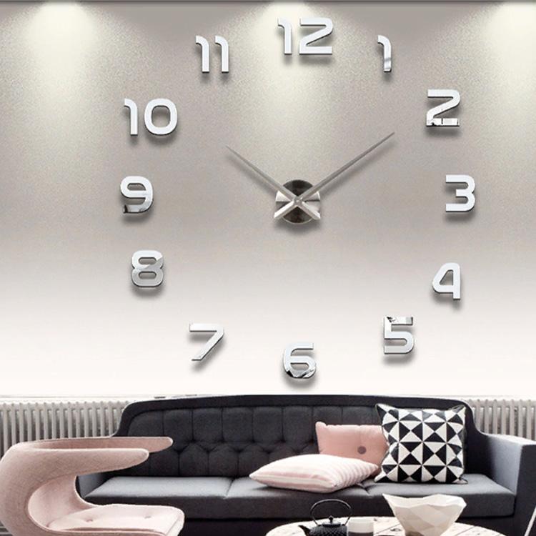 3D настенные часы цифры