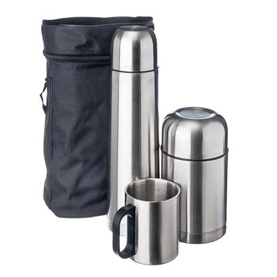VETTA Набор походный (термос 1л Буллет + термос суповой 750мл + кружка 300мл) в сумке